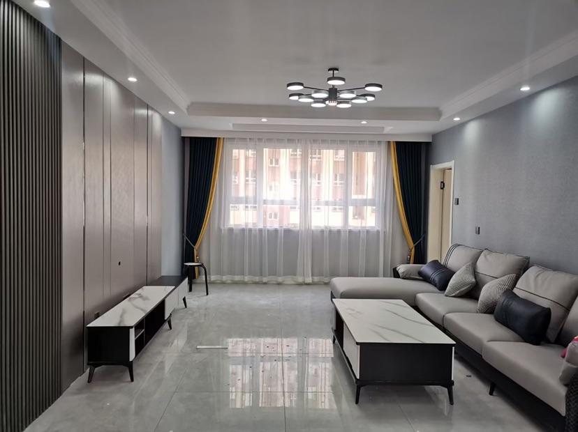 25小23中學区房,牧歌家园电梯4楼,25小正对面,精装修未入住,可做婚房
